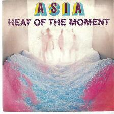 "Asia : Heat of the Moment - vinile 45 giri / 7"" - 1982"