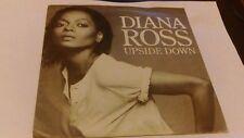 "DIANA ROSS "" UPSIDE DOWN "" 7"" SINGLE MOTOWN TMG 1195 EX-/EX- 1980"
