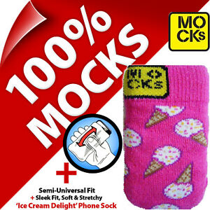 Mocks-Ice-Cream-Mobile-Phone-MP3-Sock-Case-Cover-Pouch-Sleeve-for-iPhone-5-5S-SE