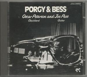 OSCAR-PETERSON-Porgy-amp-Bess-CD-MADE-IN-JAPAN-USATO-OTTIME-CONDIZIONI