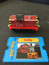 THOMAS TRAIN Take Along N Play Die Cast SALTY 2009 With Card