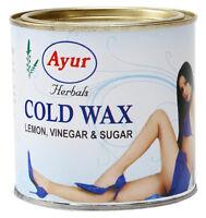 5 X Ayur Cold Wax 600gm Herbal Lemon Vinegar Sugar Hair Removing Usa Seller