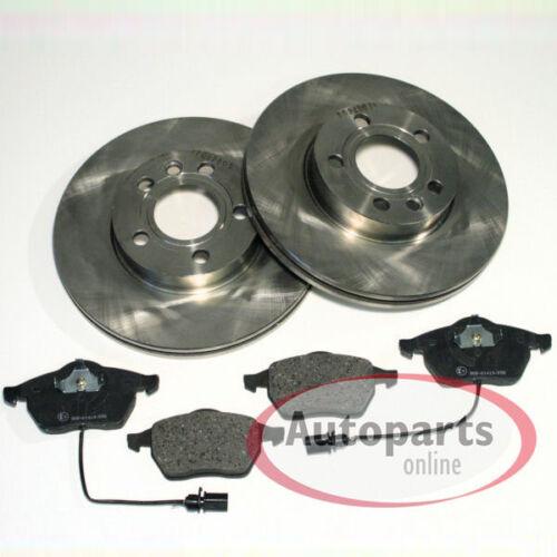 Seat Alhambra Bremsscheiben Bremsen Bremsbeläge für vorne die Vorderachse