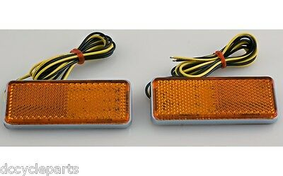 ADD-ON 18-625A  AMBER LED FRONT SIDE FAIRING LIGHT KIT GL1200 GOLDWING 1984-1987