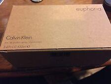 Euphoria by Calvin Klein  3.4 EDP SP Perfume Tester New In Box