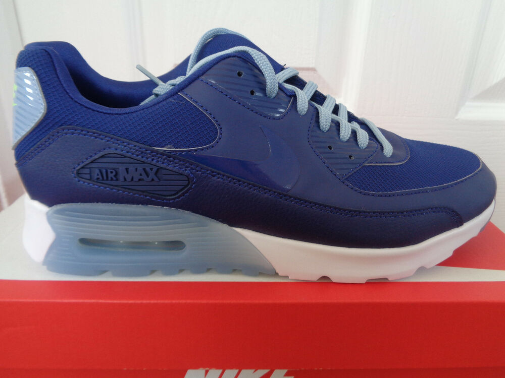 Nike Air Max 90 Ultra Essentiel Baskets 724981 402 UK 5.5 EU 39 US 8 Neuf + Boîte-