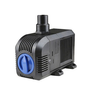 2500l h air circulation water filter pump submersible for Fish pond pumps and filters