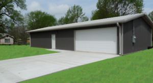 Steel building 30x40 simpson metal building kit garage for Pacchetto garage 30x40