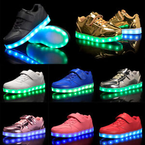 childrens trainers with lights on sale