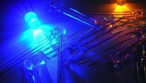 10pc 3mm Bi-Color Bi-Polar Common Cathode Yellow//Blue Led for 3v//6v//9v//12v //24v