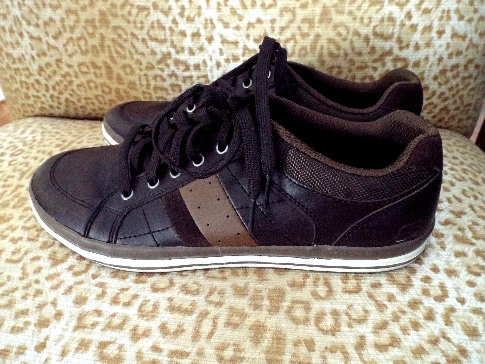 NEW***SKECHERS Sz 10.5M men's comfort LOAFERS browns!!