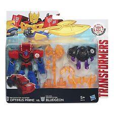 Transformers Robots in Disguise Decepticon Hunter OPTIMUS PRIME vs. BLUDGEON