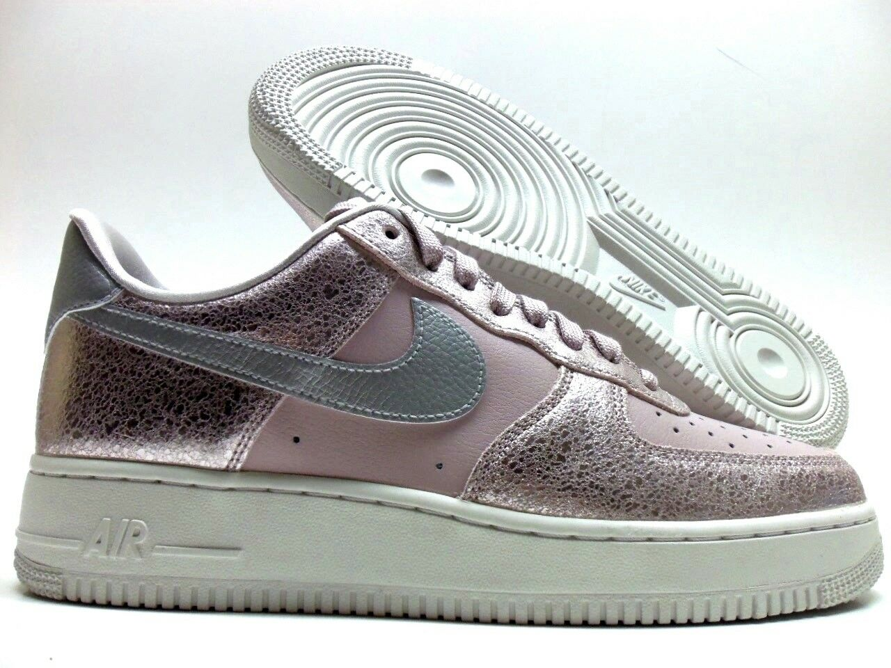 NIKE AIR FORCE 1 '07 PRM PARTICLE ROSE SIZE WOMEN'S 10.5/MEN'S 9 Price reduction
