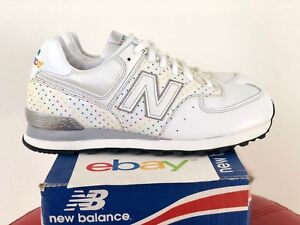 Size White Mens Silver Ds 574 New Balance Or 9 Disco Classic 10 I1wqBY