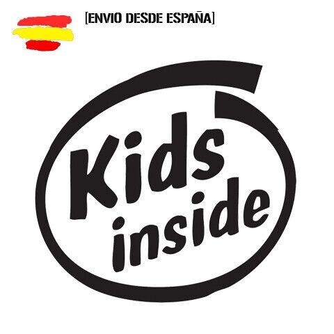Pegatina kids Inside Turbo Happy Party Divertido Sticker 12cm Vinyl Decal