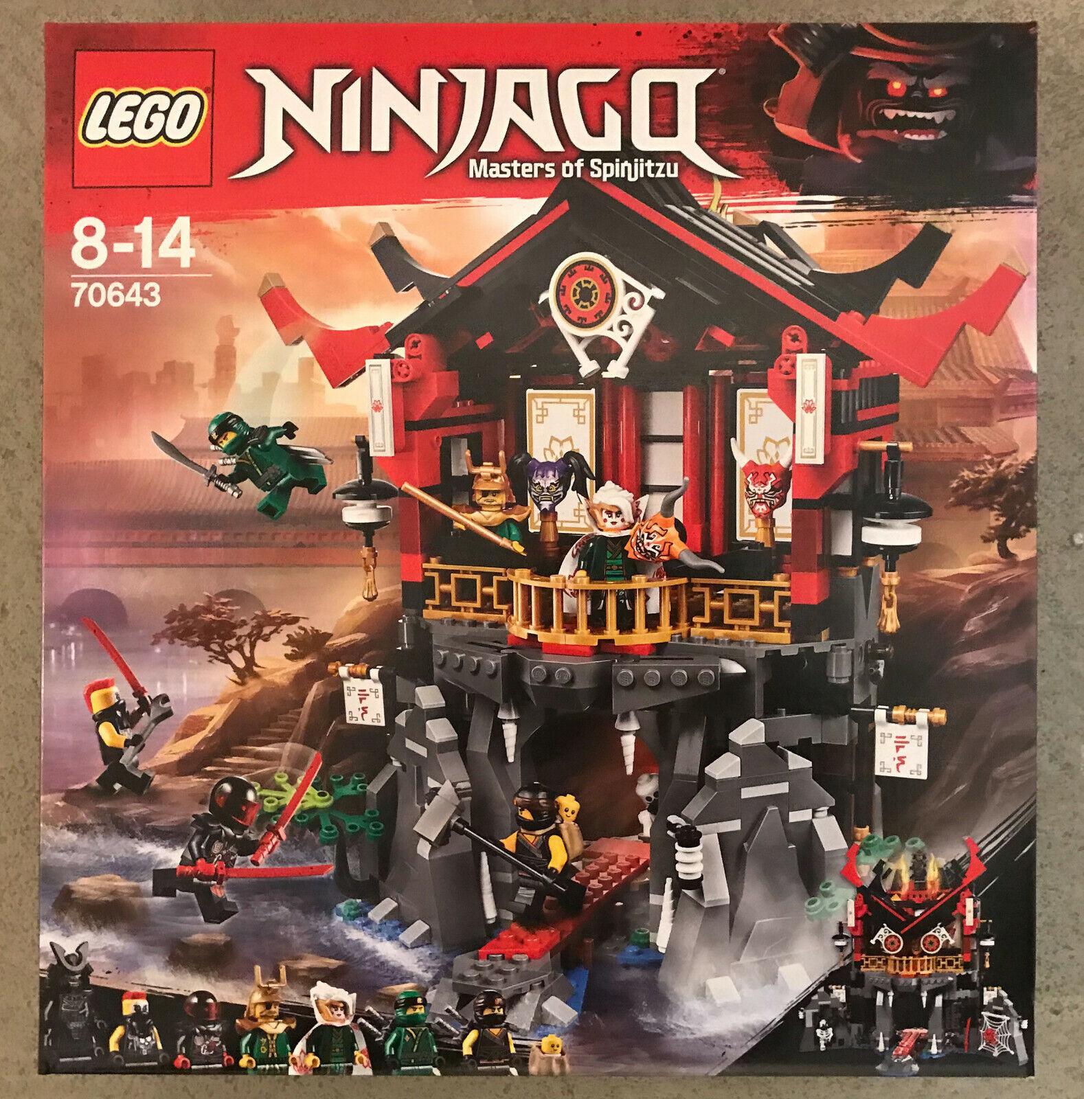 LEGO® 70643 Ninjago - Tempel der Auferstehung RAR NEU OVP NEW MISB NRFB SEALED