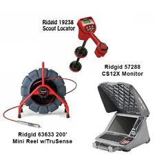 Ridgid 200 Mini Reel Withts 63633 Navitrack Scout Locator 19238 Cs12x 57288