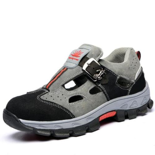 New Mens Womens Steel Toe Cap Safety Work Sandals Boots Hiking Walking Shoes