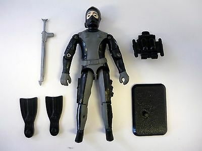 GI JOE WET DOWN Action Figure Torpedo COMPLETE 3 3/4 C9+ v1 2001