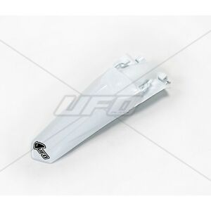 UFO Honda Motocross Rear Fender Mud Guard CRF 250 2014 - 2017 White