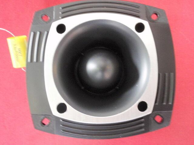 Fat PA Tweeter Ring Radiator 100 Watt 8 Ohm 103db Black 25948
