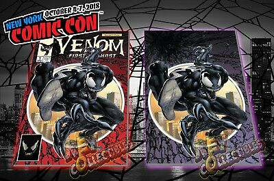 Web of Venom Funeral Pyre #1 CGC 9.8 SIGNED C Crain NYCC 2019 EXCLUSIVE IN HAND
