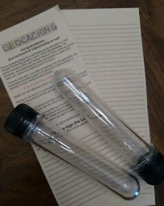 geocache-tubes-preforms-with-write-in-rain-logs-standard-soda-bottle-cap
