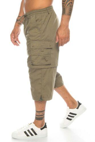 Herren Cargo Bermuda Shorts kurze Hose Sommerhose Short Cargotasche Übergröße