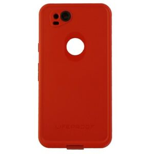 new concept d54e2 0e958 Details about LifeProof FRE Series Waterproof Case Cover for Google Pixel 2  - Red/Gray