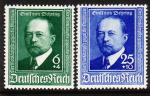 Germany-Deutsches-Reich-1940-Mi-Nr-760-761-Emil-Adolf-von-Behring-MH