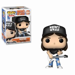 Movies #684 Vinyl Figur Funko Halten Sie Die Ganze Zeit Fit Designer & Urban Vinyl Wayne Campbell Mike Myers Wayne's World Pop Action- & Spielfiguren