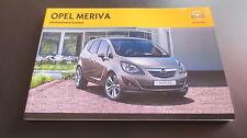 Opel Meriva B Infotainment System Navi 600 900 / CD 300 400 Bedienungsanleitung
