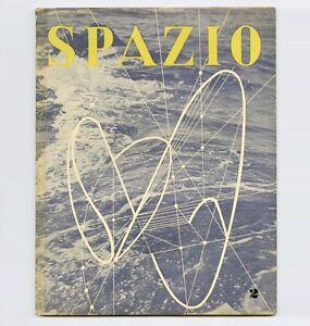 1950 luigi moretti spazio italian art architect mag for Mobilia spazio