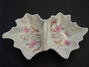 Mitterteich Bavière Porcelaine Nut & Candy Dish-wild Flowers Pattern 6061-afficher Le Titre D'origine Hi7bai52-07225004-431509936