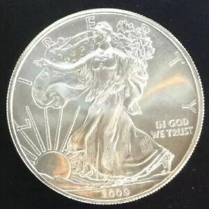 2009-American-Eagle-1-oz-BU-Silver-Dollar-Coins-Ships-USPS