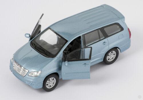 Blitz envío Toyota Innova azul claro//Light Blue Welly modelo auto 1:34 nuevo embalaje original