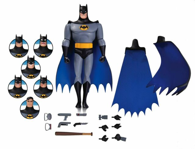 DC Collectible Batman Animated Series Batman Expression Pack Action Figure