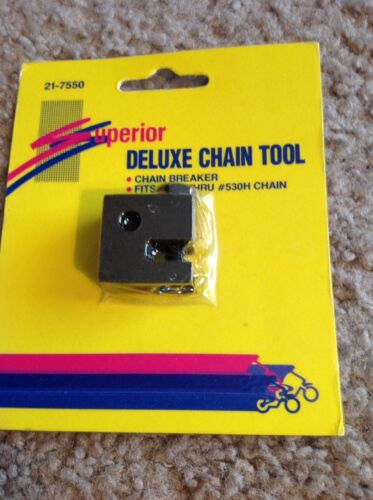 Superior Chain Breaker for #420 Thru #530H Chain Black With Pin Screw