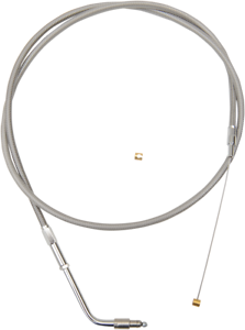 LA Choppers LA-8320TH16 Throttle Cable Stainless 15-17in Ape Hangers