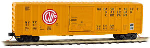 Wabash-Valley-50-039-Rib-Side-Box-Car-Single-Door-MTL-025-00-910-N-Scale