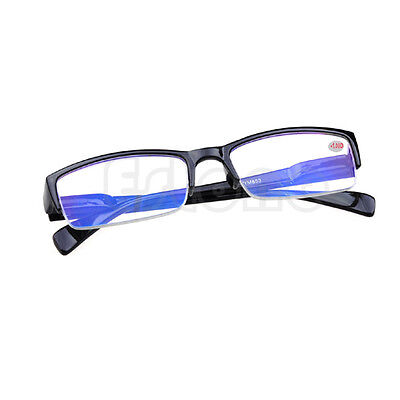 Black Frames Half Rimless Nearsight Myopia Glasses -1 -1.5 -2 -2.5 -3 -3.5 -4