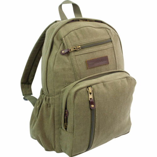 Olive Green Hiking Camping Highlander Salem Backpack Rucksack 18L Beige