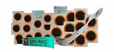 PUNCTURE REPAIR KIT PATCHES GLUE ROLLER BUFFER INNER TUBE TYRE MOTORCYCLE CAR