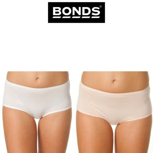 Womens Bonds Satin Touch Cottontails Midi Brief Panties Knickers Undie W019O