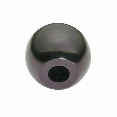 Ball knob plastic 38mm M10 thread handle tractor lathe hydraulic lever digger