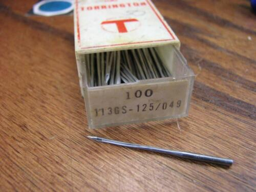 Singer Reese and more Industrial Sewing Machine Needles Open Box Selection