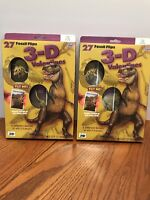 Valentine's Day Cards 27 Per Box Fossil Flips 3d Dinosaur 2 Boxes Per Lot