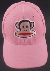 Paul-Frank-Logo-Red-Mango-Pink-Strapback-Cap-Hat