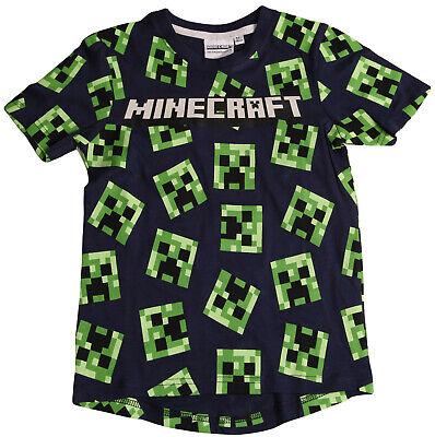 MINECRAFT T-Shirt original neu Jungen Mädchen 6 Jahre Gr.116  Mining