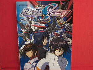 Gundam SEED Destiny 51 Piano Sheet Music Collection Book | eBay